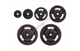 Диск металлический Hop-Sport 1,25-20 кг