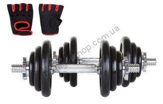 Гантели чугунные Hop-Sport 2 x 10 кг