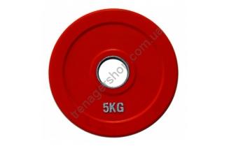 Цветной диск олимпийский обрезиненный RCP19 5