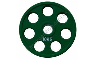 Цветной диск олимпийский обрезиненный RCP19 10