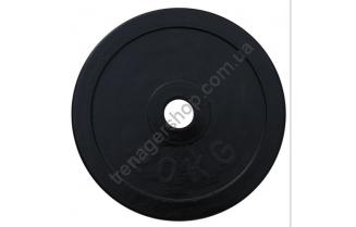 Черный диск олимпийский обрезиненный RCP11 20