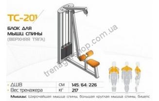 Блок для мышц спины (верхняя тяга) ТС-201