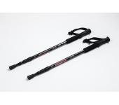 Треккинговые палки регулируемые Everest black
