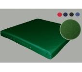 Мат гимнастический зеленый 100х140х10см
