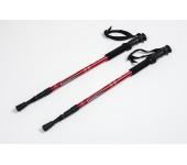 Треккинговые палки регулируемые Everest red