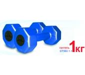 ST560.1-1 Гантели пластиковые Inter Atletika 1 кг