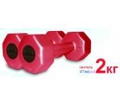 ST560.2-2 Гантели пластиковые Inter Atletika 2 кг