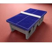 Бетонный стол для настольного тенниса
