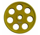 Цветной диск олимпийский обрезиненный RCP19 15