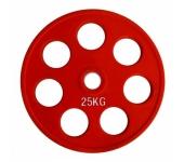 Цветной диск олимпийский обрезиненный RCP19 25