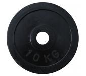 Черный диск олимпийский обрезиненный RCP11 10