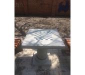 Бетонный шахматный стол Fitness Master