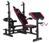 Регулируемая скамейка для тренировок штангой HS-10