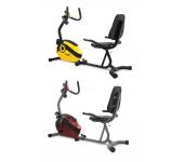 Магнитный велотренажер SCUD Swift H4 красный/желты