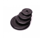 Черный диск обрезиненный RCP10-0.5 кг (26 мм)