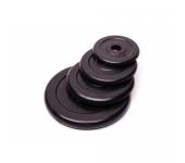 Черный диск обрезиненный RCP10-15 кг (26 мм)