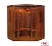 Инфракрасная сауна четырехместная Corner Luxe