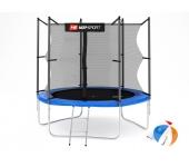 Батут Hop-Sport 8 ft (см) + лесенка (внутренняя /