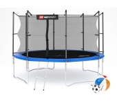 Батут Hop-Sport 12 ft (366 см) + лесенка (внутренн