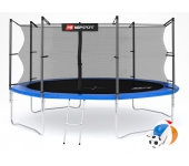 Батут Hop-Sport 14 ft (427 см) + лесенка (внутренн