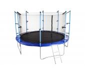 Батут GartenPlay 12 ft (366 см) + лесенка (внутрен