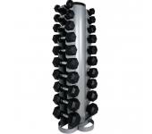 Гантельный ряд Fitness master + стойка от 1 до 10