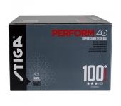 Мячики Stiga Perform 3-star ABS 100-pack White