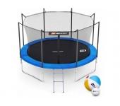 Батут Hop-Sport 10ft (305cm) blue с внутренней сет