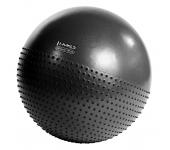 Мяч для фитнеса (фитбол) полумассажный HMS YB03 75