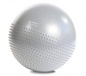 Мяч для фитнеса (фитбол) полумассажный HMS YB03 65