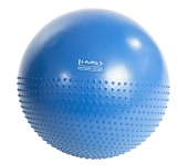 Мяч для фитнеса (фитбол) полумассажный HMS YB03 55