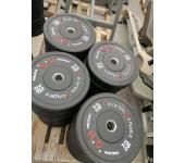 Бамперный диск для кроссфита Fitness Service 15 кг